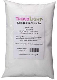 TrendLight 890171-5 5 kg Mezcla 80% parafina y 20% estearina
