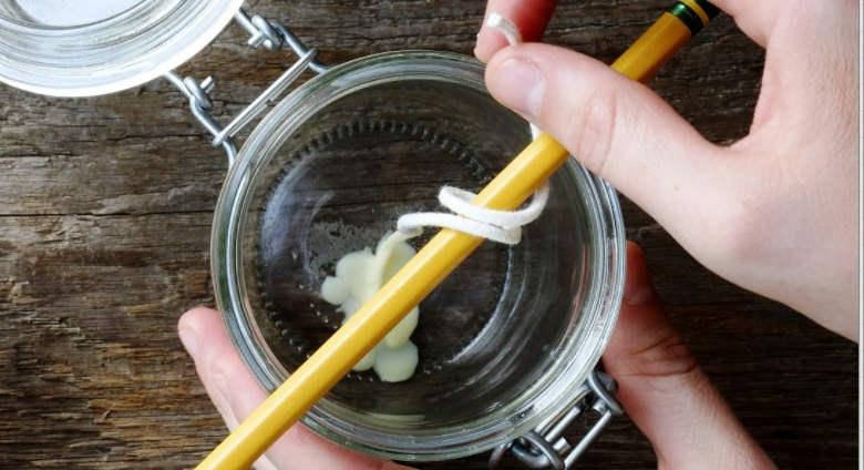 como hacer velas caseras faciles con parafina