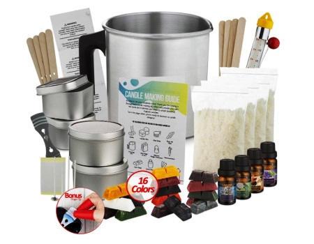 comprar kit para hacer velas artesanales