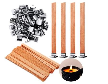 mecha velas madera precio